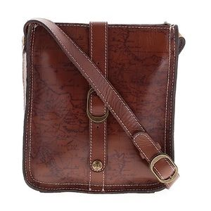 Patricia Nash Venezia Map Crossbody Bag